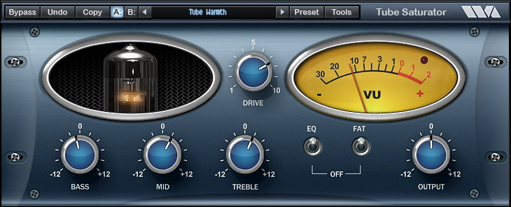 Wave Arts | Plugins | Tube Saturator Vintage