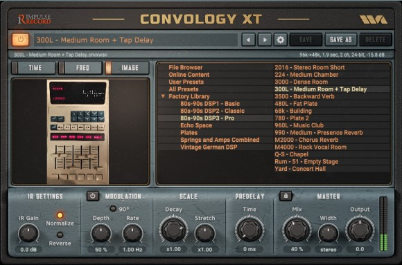 Wave Arts Convology XT - Free! | AudioSEX - Professional